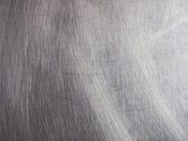 Fermez-vous vers le haut de la texture inoxydable en métal Image libre de droits
