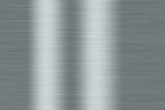 Fermez-vous vers le haut de la texture radiale en métal Photos stock