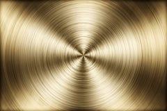 Fermez-vous vers le haut de la texture radiale en métal Images libres de droits