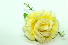 Fermez-vous vers le haut de la vue de la fleur en plastique Photos libres de droits