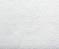 Fermez-vous vers le haut de la vue de la texture de fond de modèle de la serviette de papier Image libre de droits