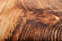 Fermez-vous vers le haut de la vue de la texture en bois Image stock