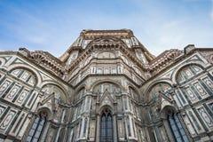Fermez-vous vers le haut de la vue du Duomo à Florence, Italie Image libre de droits