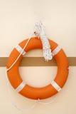 Fermez-vous vers le haut de lifebuoy Photo stock