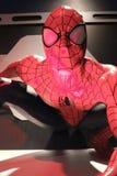 Fermez-vous vers le haut de Spiderman Photographie stock