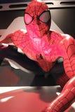 Fermez-vous vers le haut de Spiderman Images stock