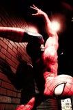 Fermez-vous vers le haut de Spiderman Images libres de droits