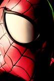 Fermez-vous vers le haut de Spiderman Photos stock
