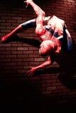 Fermez-vous vers le haut de Spiderman Photographie stock libre de droits