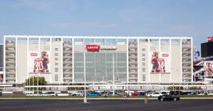 Fermez-vous vers le haut de 49' stade San Jose d'ers Levi's Image stock