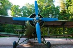 Fermez-vous vers le haut des avions militaires de la deuxième guerre mondiale Images stock