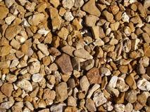 Fermez-vous vers le haut des belles roches Images stock