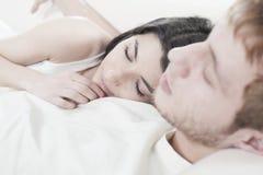 Fermez-vous vers le haut des couples Photo libre de droits