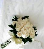 Fermez-vous vers le haut des fleurs blanches Photos libres de droits
