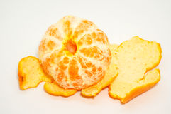 Fermez-vous vers le haut des oranges de vue Photo libre de droits