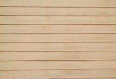 Fermez-vous vers le haut des panneaux en bois gris de frontière de sécurité Image libre de droits