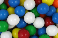 Fermez-vous vers le haut des parties de bubble-gum Photo stock