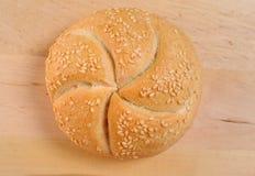 Fermez-vous vers le haut des roulis de pain Photos stock