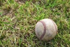 Fermez-vous vers le haut du base-ball Photo libre de droits