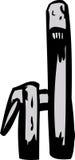 Fermez-vous vers le haut du détail sur le robinet de bande dessinée avec la poignée Photos libres de droits
