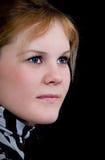 Fermez-vous vers le haut du femme de beauté de verticale Photographie stock