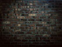 Fermez-vous vers le haut du fond de brique Photographie stock