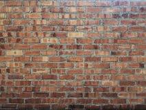Fermez-vous vers le haut du fond de brique Photo libre de droits