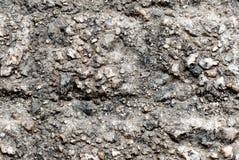 Fermez-vous vers le haut du fond de texture de roche Photographie stock libre de droits