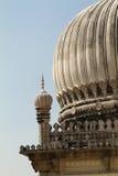 Fermez-vous vers le haut du minaret de tombeau Photographie stock