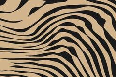 Fermez-vous vers le haut du modèle d'animal de rayure illustration stock
