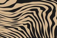 Fermez-vous vers le haut du modèle d'animal de rayure illustration libre de droits