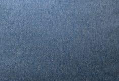 Fermez-vous vers le haut du modèle de fond de la texture bleue de denim Photos libres de droits