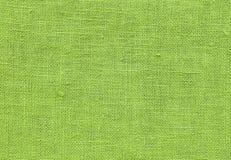 Fermez-vous vers le haut du modèle de fond de la texture Chartreuse verte de textile images stock