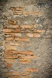 Fermez-vous vers le haut du mur de roche avec le fond Photo libre de droits