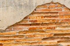 Fermez-vous vers le haut du mur de roche avec le fond Photo stock