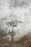 Fermez-vous vers le haut du mur en béton sale Photos libres de droits