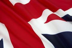 Fermez-vous vers le haut du projectile de l'indicateur de l'Angleterre Photo stock