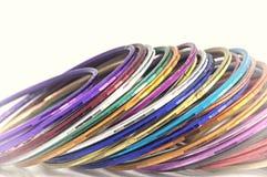 Fermez-vous vers le haut du tir des bracelets Photo libre de droits