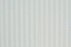 Fermez-vous vers le haut du tissu de coton bleu blanc d'angle diagonal extérieur Image stock
