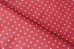 Fermez-vous vers le haut du tissu de coton bleu blanc d'angle diagonal extérieur Images stock