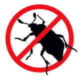 Fermi i parassiti Fotografia Stock Libera da Diritti
