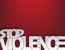 Fermi il fondo di violenza Fotografia Stock Libera da Diritti
