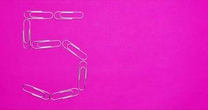 Fermi il moto delle graffette che creaing le forme ed i simboli video d archivio
