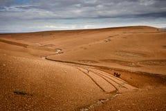 Fermier de désert Photos libres de droits