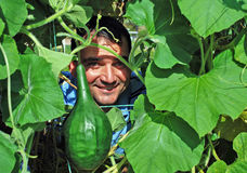 Fermier heureux Photo libre de droits