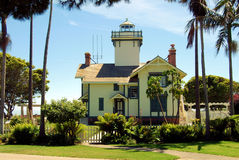 Fermin Lighthouse royaltyfri foto