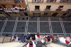 fermin Pamplona San Obraz Stock