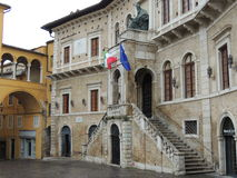 Fermo - People's Square Royalty Free Stock Image