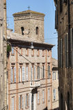 Fermo - Historic buildings Stock Photography