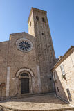 Fermo - Historic church Stock Photos